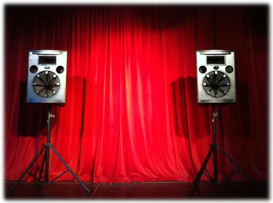 pa system package for small venues (up to 150 people)